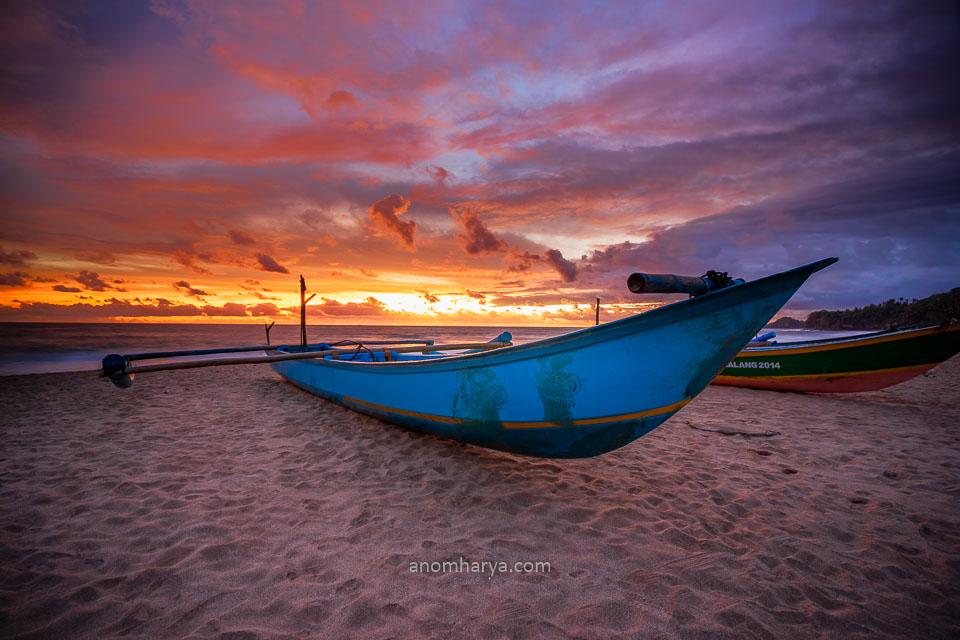 Sunset Pantai Ngantep