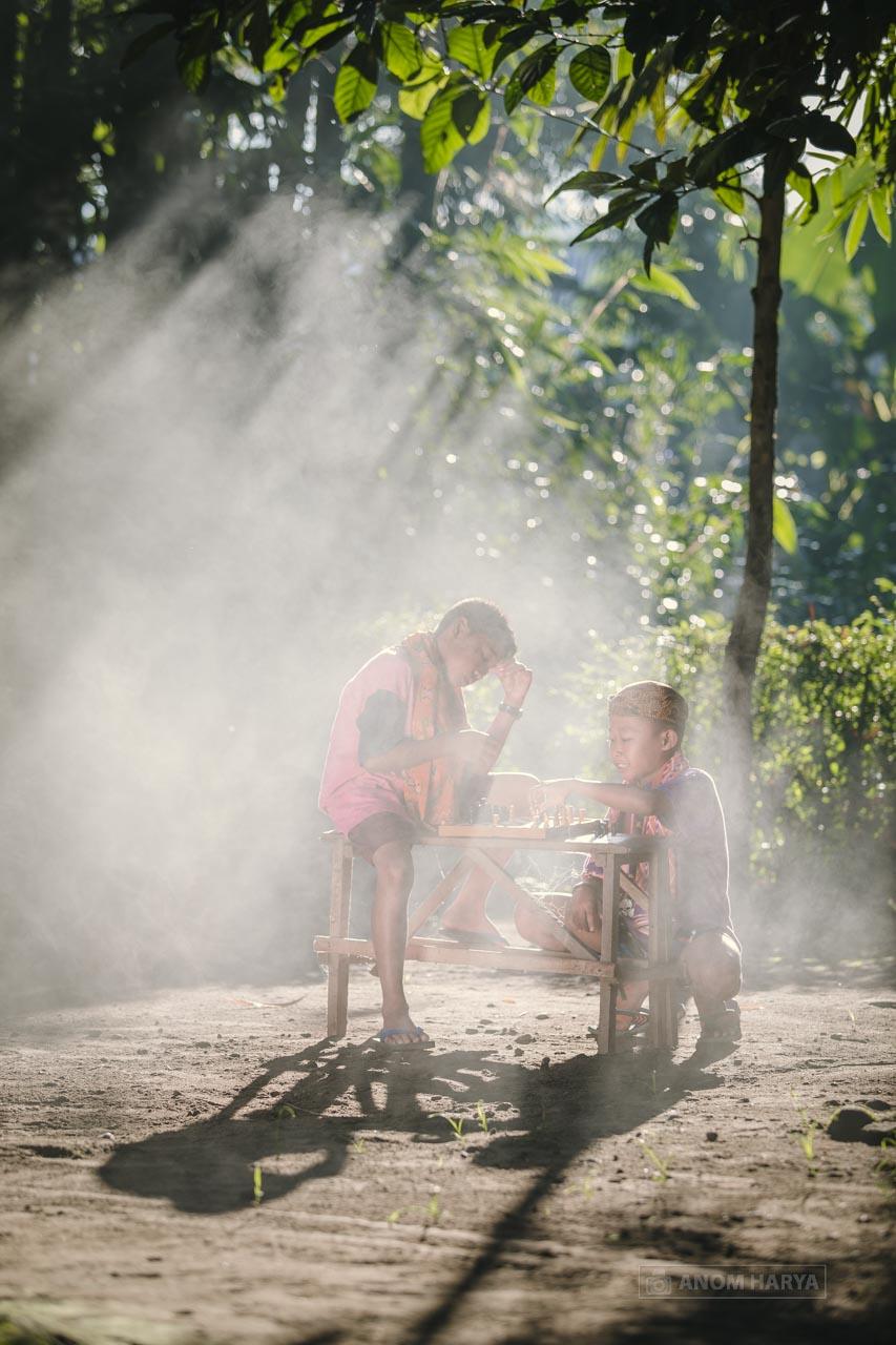 Foto Anak di Desa