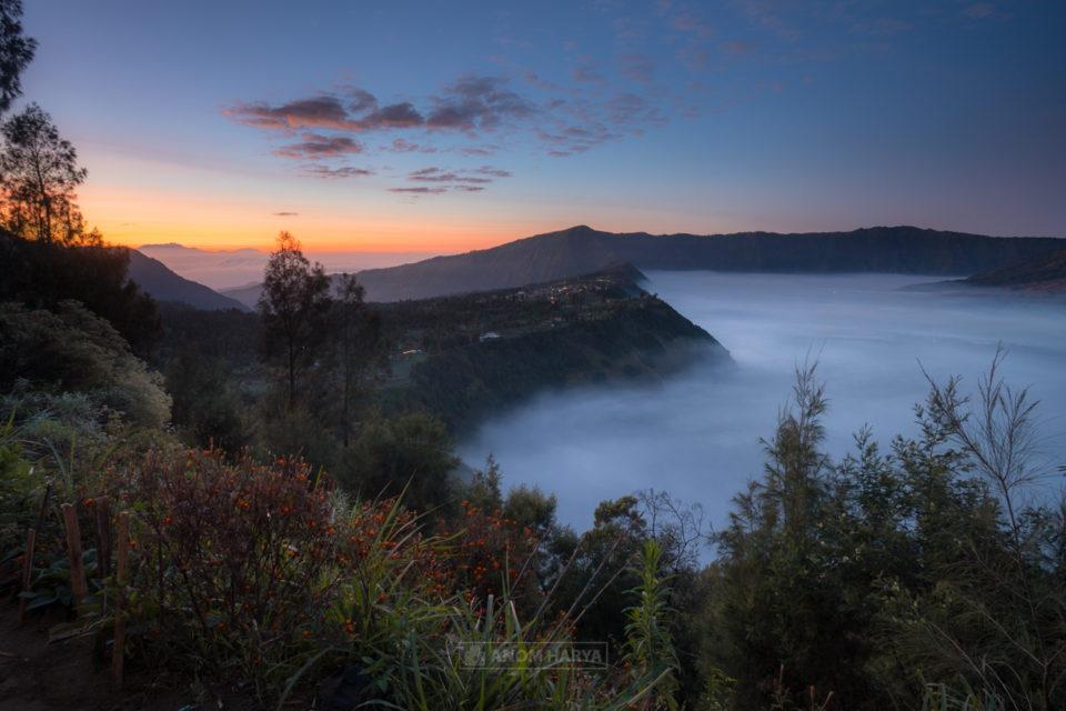 Melihat Matahari Terbit dari Seruni Bromo