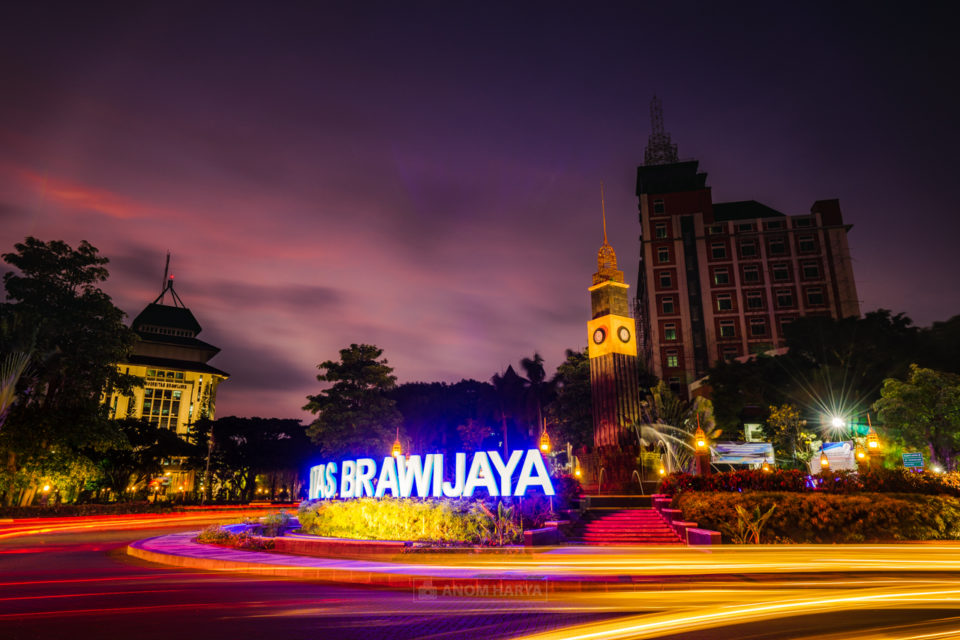 Universitas Brawijaya Long Exposure