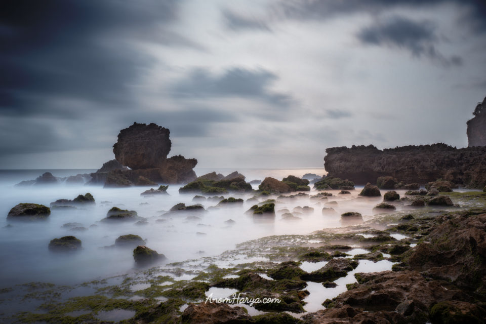 Long Exposure Watu Lepek Beach