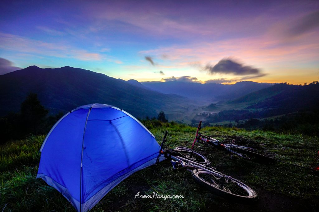 Sunrise View From New Zealand BikeCamp Site (Bromo)