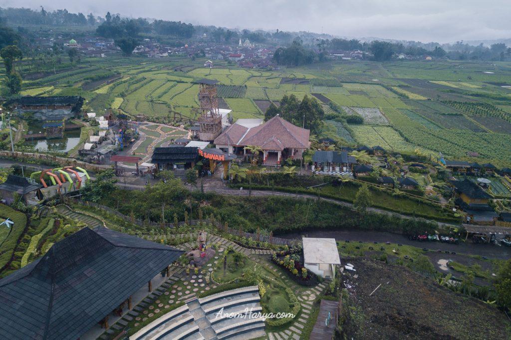 Aerial Cafe Sawah - Pujon Kidul (Malang)