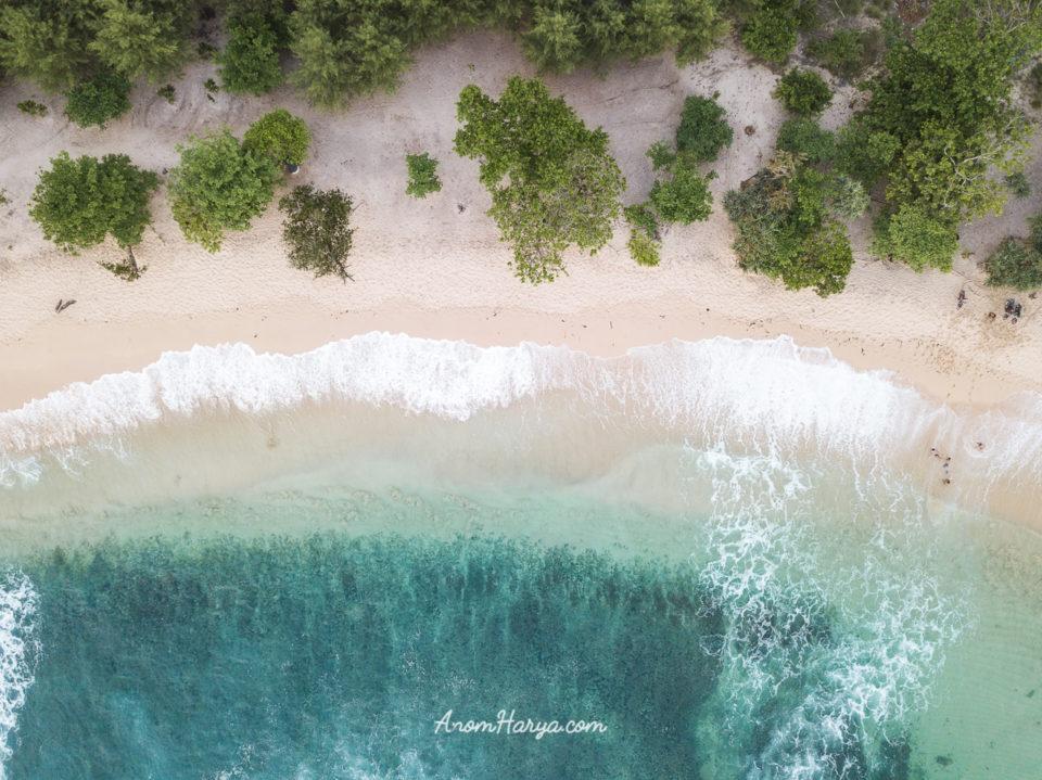 Aerial Pantai Ngudel