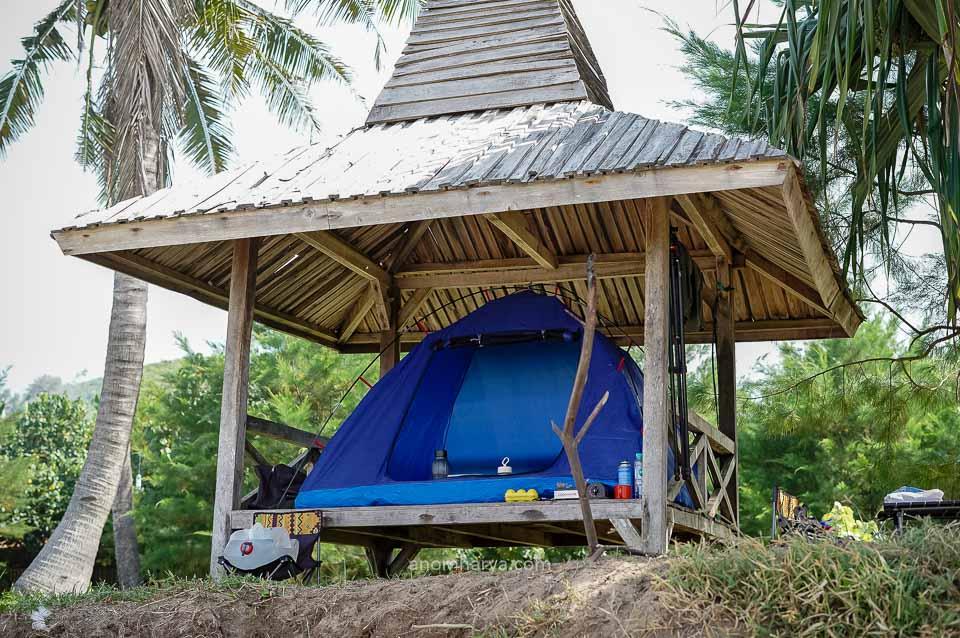 camping di parang dowo