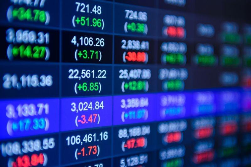ilustrasi harga saham