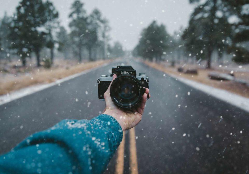 kamera kehujanan
